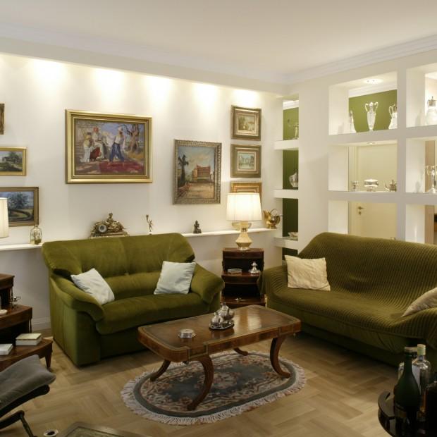 Stylizowane wnętrze: mieszkanie zatrzymane w czasie