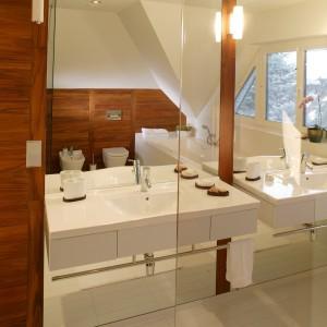 Łazienka dla rodzeństwa. Podwójna funkcjonalność