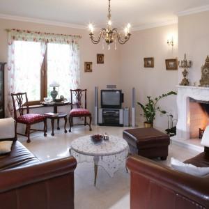 Stylowy pokój jak salon przedwojennej arystokracji
