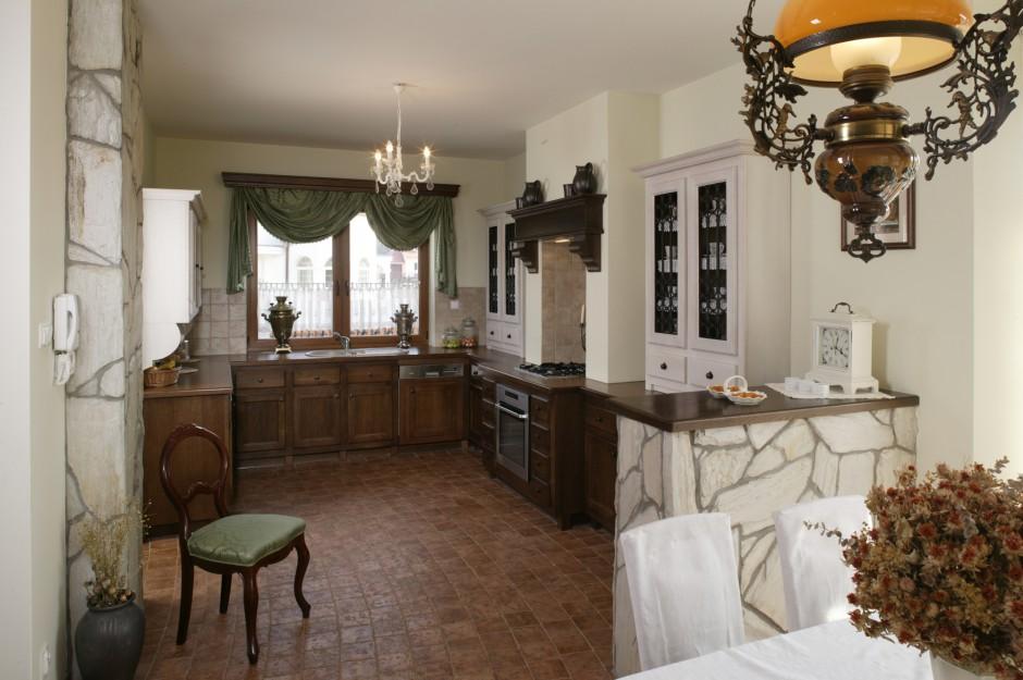 Fot Archiwum Rustykalna kuchnia dom w stylu retro -> Kuchnia W Stylu Retro Dodatki