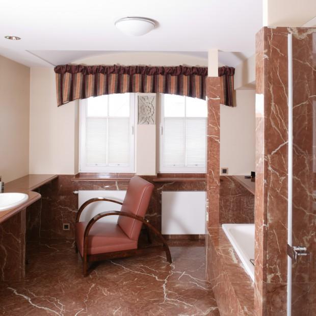 Marmur w łazience: eleganckie i luksusowe wnętrze