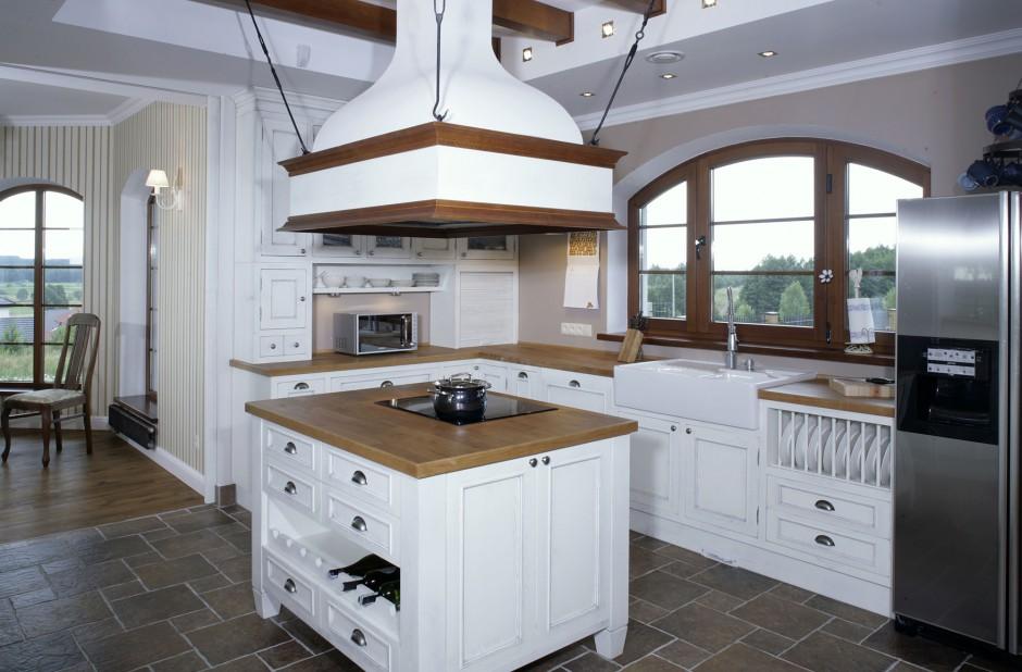 Wyspa kuchenna, poza Kuchnia z angielską elegancją -> Kuchnia Angielska Oświetlenie