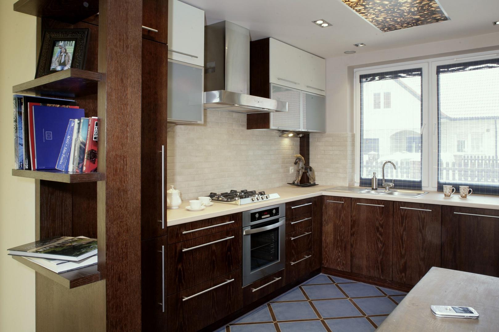 Postarzone cegły na To kuchnia, w której aż chce się   -> Kuchnia I Cegla