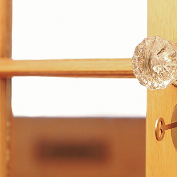 Drzwi do sypialni