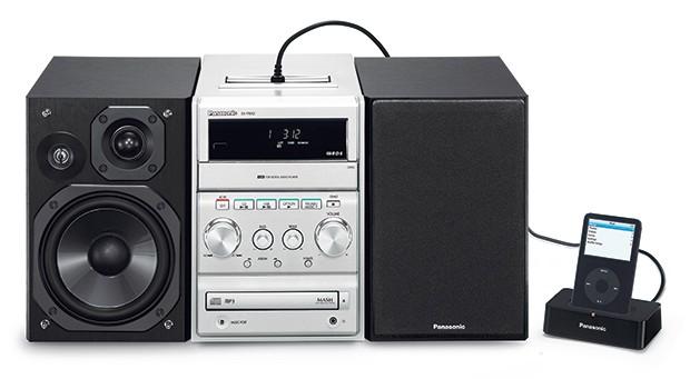 Panasonic mikrozestaw audio