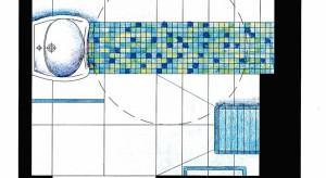 Nasz redakcyjny architekt radzi, w jaki sposób zaprojektować łazienkę, aby była bardziej przyjazna dla osoby niepełnosprawnej.