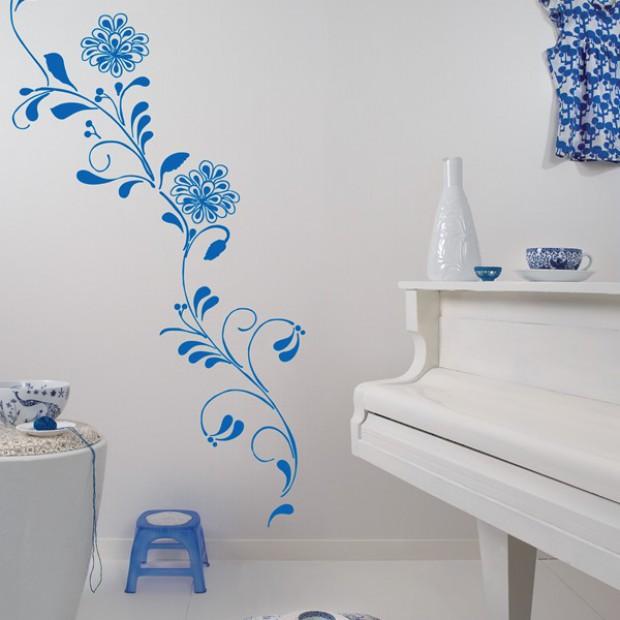 Najpiękniejsze dekoracje w niebieskim kolorze
