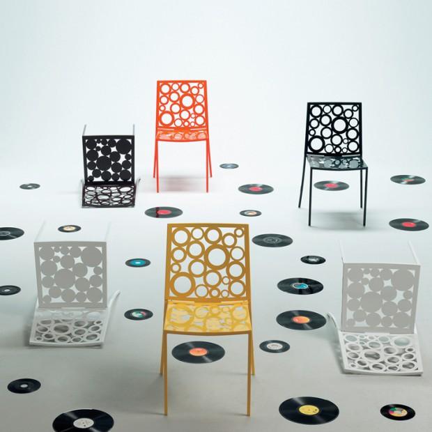 Włoskie krzesła. Magia koloru