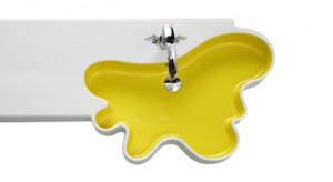 W kształcie kleksa lub kropli wody, serca lub skrzydła motyla... Łazienkowa ceramika i towarzyszące jej wyposażenie, w wyjątkowo efektownym stylu wyzwalają się spod dyktatu wszechobecnej, geometrycznej formy!