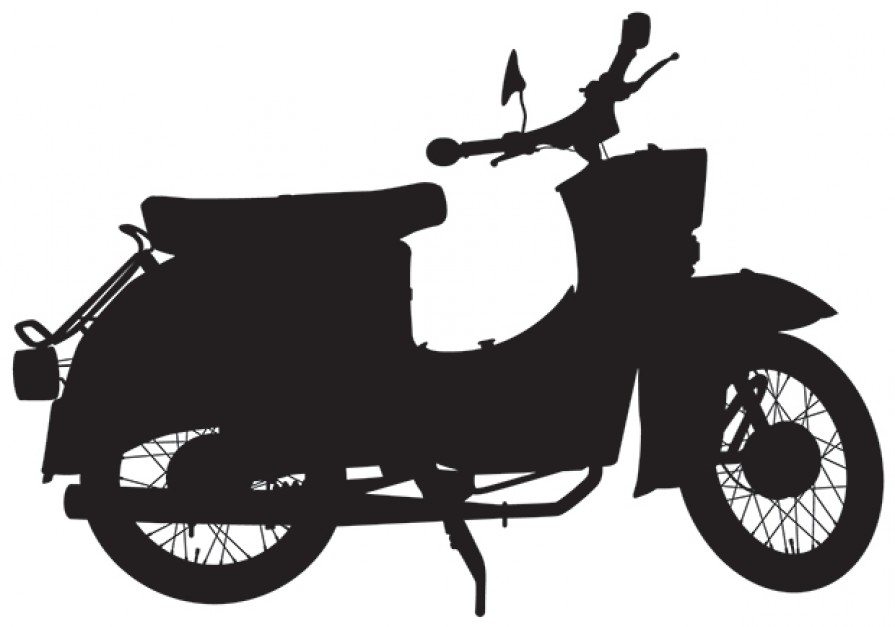 www.naklejkiscienne.pl skuter