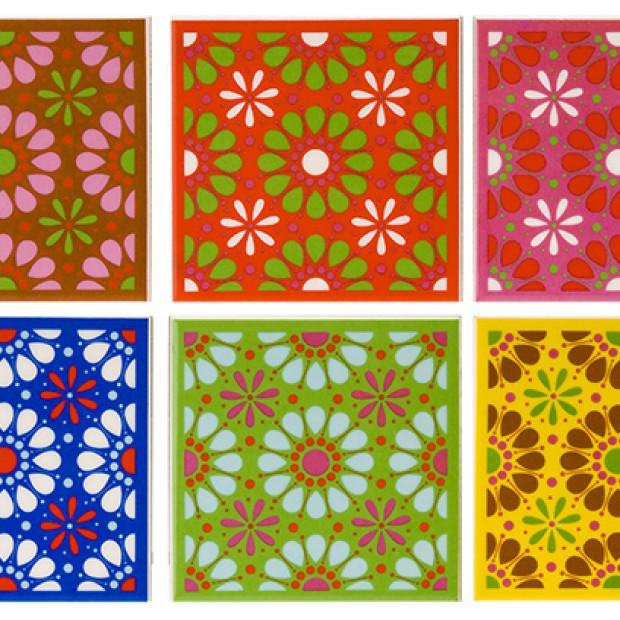 Kolorowe dekoracje i akcesoria kuchenne