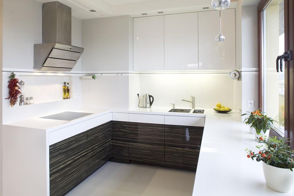 Kuchnia to stylistyczna Dwukolorowe meble kuchenne   -> Kuchnie Lakierowane Dwukolorowe