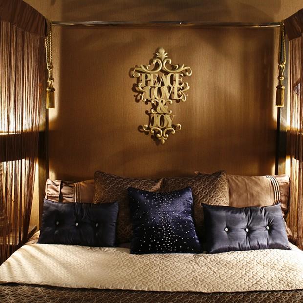 Marokańskie inspiracje: orientalna sypialnia