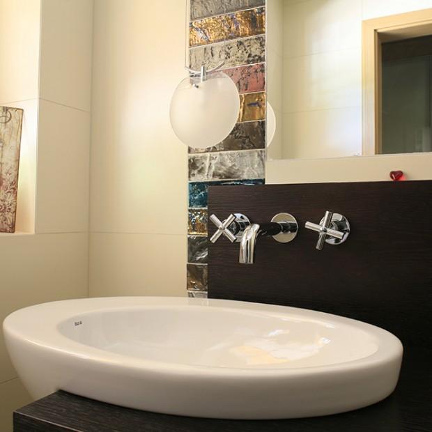 Łazienka dla gości: najważniejszy jest pomysł
