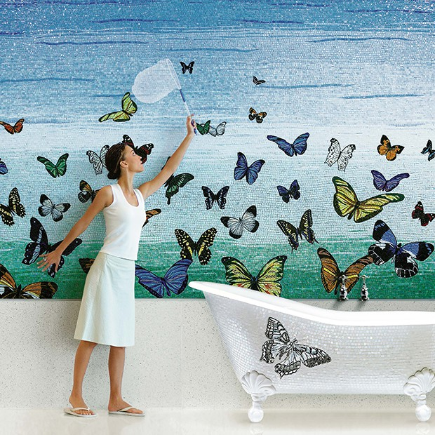 Kąpiel motyli