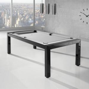 KATEGORIA PRZESTRZEŃ KUCHNI I JADALNI: Lissy stół bilardowy/Lissy. Stół przeznaczony zarówno do jadalni, domowego klubu bilardowego, jak również biura. Łączy w sobie dwie funkcje - stołu bilardowego i stołu jadalnianego (konferencyjnego). Mechanizm obrotowy pozwala na błyskawiczną zmianę funkcji.  Producent: Lissy PPHU, www.lissy.pl