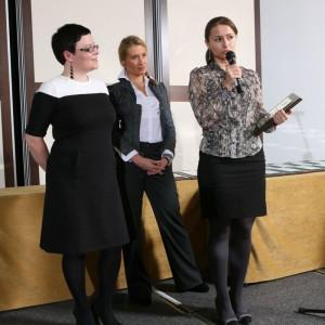 W kategorii Przestrzeń Salonu nagrodę otrzymały również meble z kolekcji Oui marki Bizzarto. Przemawia Małgorzata Jeżowska, przedstawicielka marki.