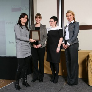 W kategorii Agd jedna z nagród - za piekarnik HL 870 powędrowała w ręce przedstawicielek marki Teka - Iwony Kryczki i Karoliny Szymańskiej.
