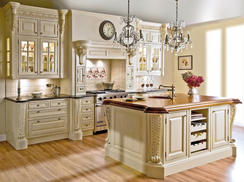 Meble kuchenne -> Kuchnia Prowansalska Oświetlenie