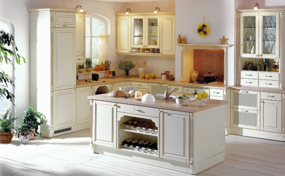 Meble kuchenne rust