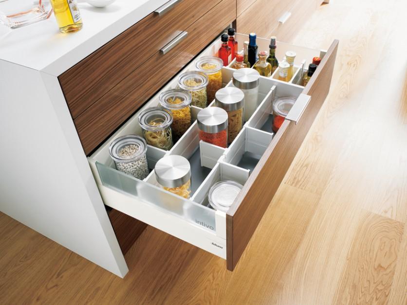 Kuchnie z systami szuflan tandembox