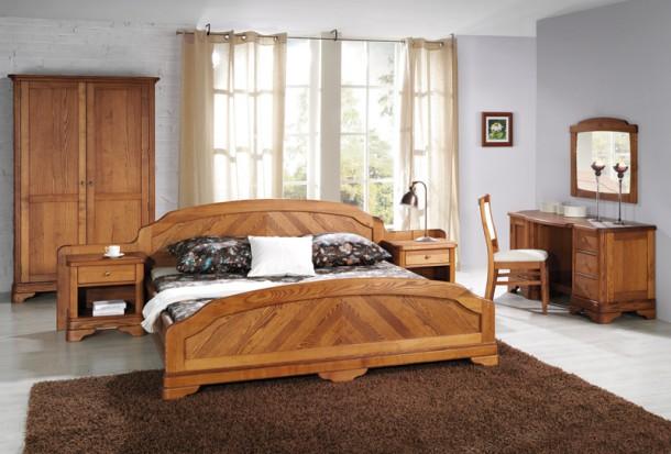 Sypialnia z łóżkiem , meble.