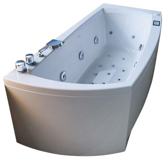Wanna z hydromasażem do łazienki.