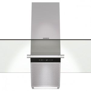 LC955KA40 - kominowy, funkcja Dimm, sterowanie elektroniczne, 550 m3/h, filtr metalowy, szer. 90 cm. Cena: ok. 4.969 zł, Siemens.
