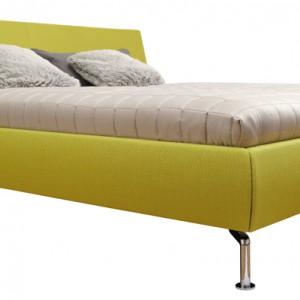 Tapicerowane w tkaninie lub skórze naturalnej  łóżko Metis Plus – eleganckie i nowoczesne jednocześnie. Na zamówienie, Hulsta.
