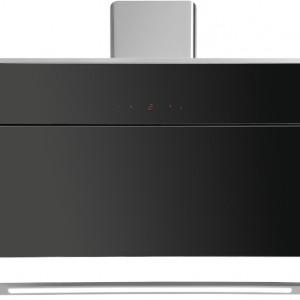 Okap Illumia Black łączy w sobie oryginalne wzornictwo i najnowsze rozwiązania technologiczne. Sterowanie przy pomocy specjalnej aplikacji na smartfonie pozwala wietrzyć kuchnię, nawet gdy nie ma nas w domu. Cena: ok. 4.990 zł, Ciarko.