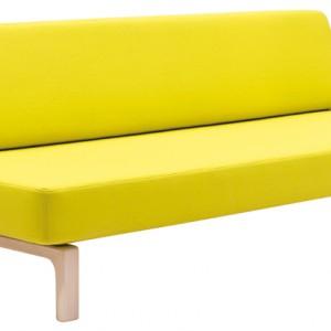 Nowoczesna, prosta, rozkładana sofa Lazy. Tapicerowana różnymi tkaninami, dostępnymi także w szerokiej palecie kolorystycznej...