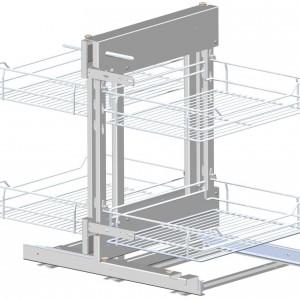 Produkt do zagospodarowania szafek narożnych CORNER COMFORT (Rejs Sp. z o.o.) - tytuł Dobry Design 2014