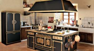 Gdy chcemy konsekwentnie utrzymać w swojej kuchni klimat rustykalnego wnętrza, najlepszym wyjściem będzie wybór sprzętów w stylistyce retro.