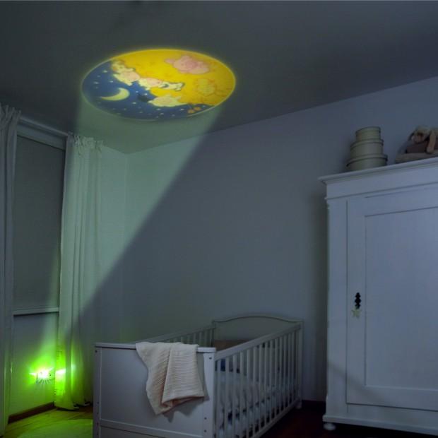 Projektor rozproszy dziecięce koszmary