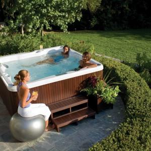 SPA w ogrodzie dla wielbicieli relaksu