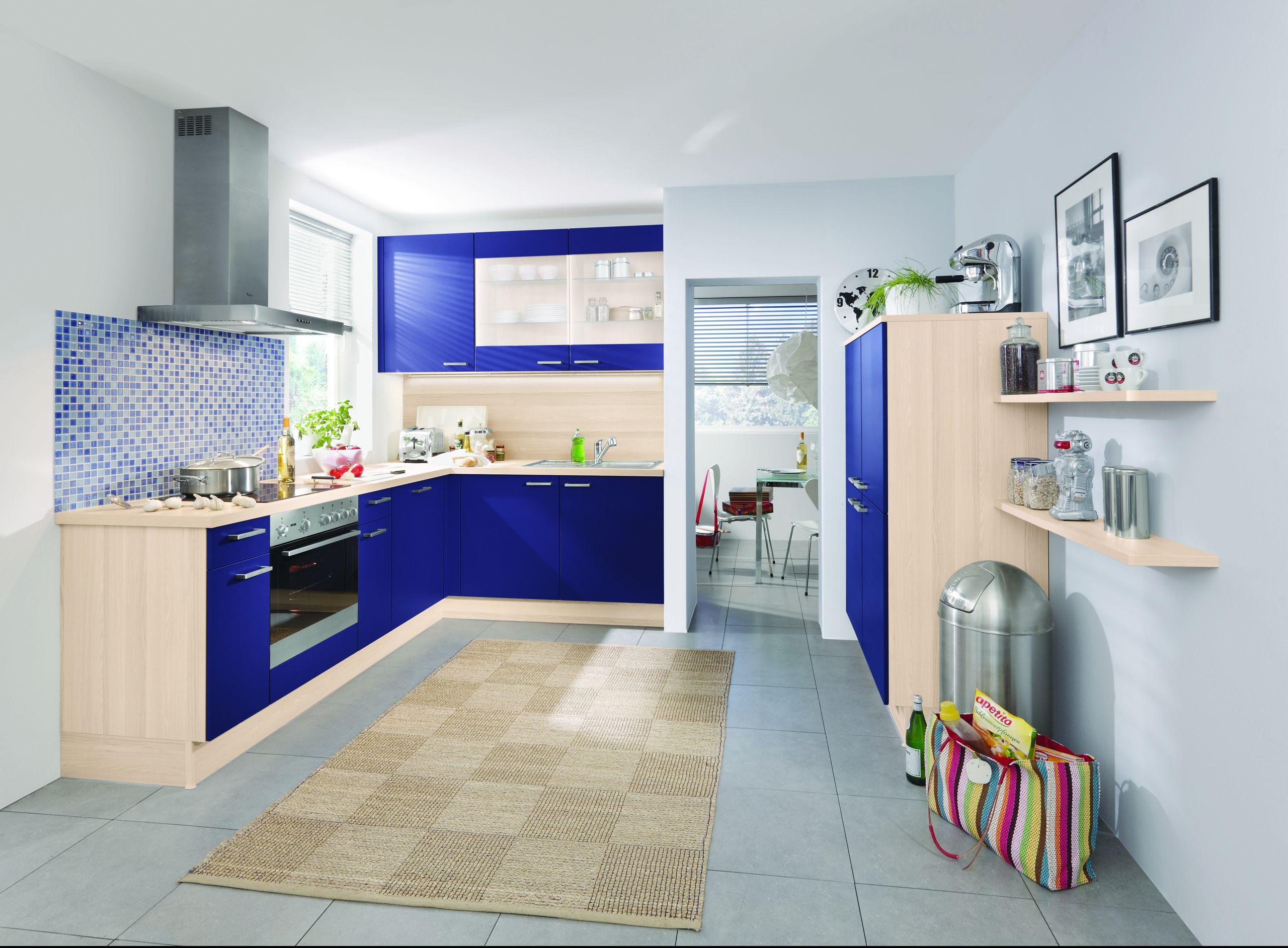 kolorowe meble kuchenne. Black Bedroom Furniture Sets. Home Design Ideas