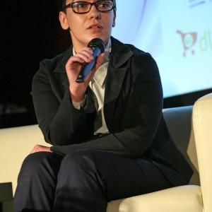 """Anna Rumocka, ekspert ds. sektora kreatywnego, kierownik projektu """"Dumni z polskich mebli""""."""
