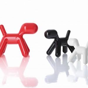 Piesek Puppy (proj. Eero Aarnio) to bajeczne krzesełko i zabawka w jednym – idealne do zabawy i poznawania świata. Dostępne w kilku wesołych kolorach i w wersji fluorescencyjnej. Magis Me Too/Worldsdesign.pl.