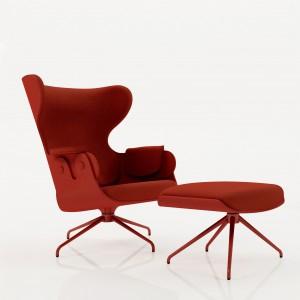 10 designerskich foteli obrotowych