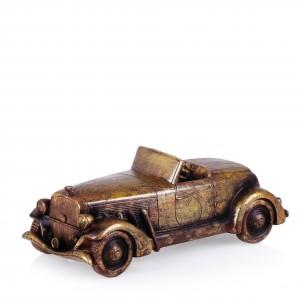 Figurka starej limuzyny Golden Car dobrze wygląda na półce czy w gablotce. Fot. Home&You.