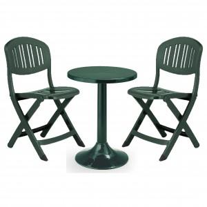 Ciekawy zestaw dla dwojga Tucano Capri Green Set. EW Garden Furniture.
