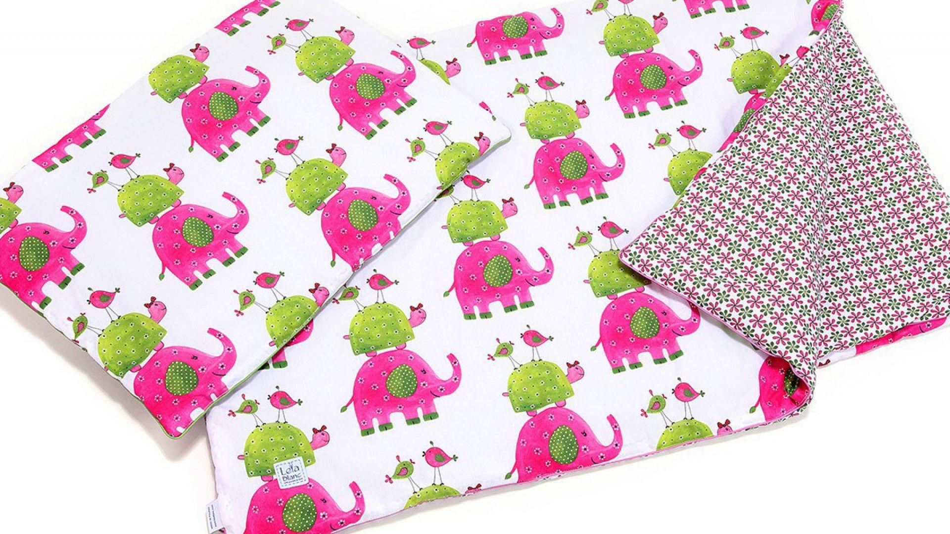 Różowe słonie, a każdy kokardkę ma na ogonie. Fot. Kids Town.