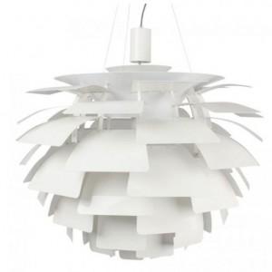 Lampa Arti to klasyk, który wciąż robi wrażenie. Wykonana z wysokiej jakości aluminium. Stalowe kable mocując lampę do sufitu. Średnica 60 cm, wys. 100-130 cm. 2.530 zł, LePukka.