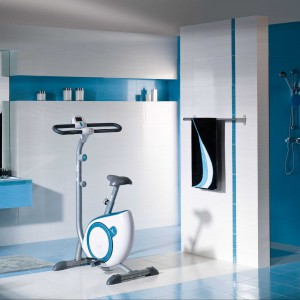 Wielki błękit - wyposażenie łazienkowe