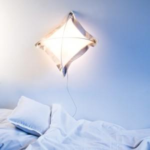 Delikatne światło w sypialni