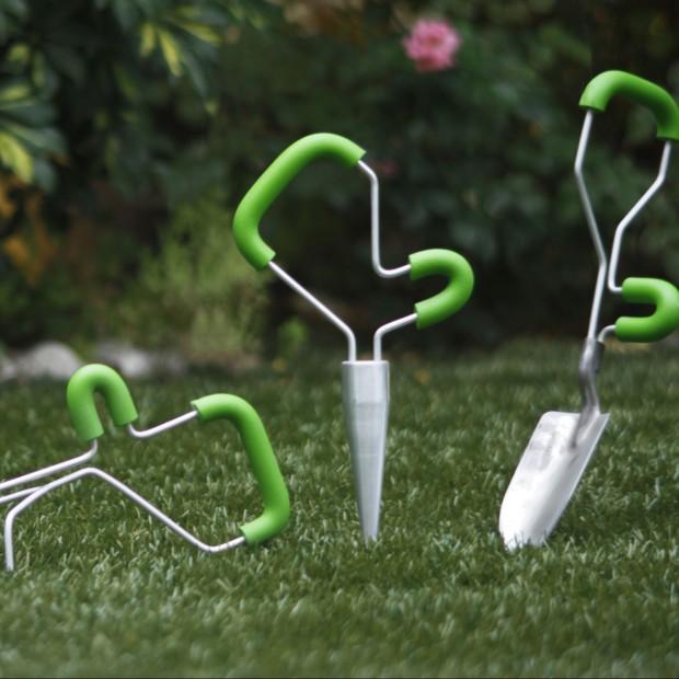 Designerskie narzędzia do pielęgnacji rabatek