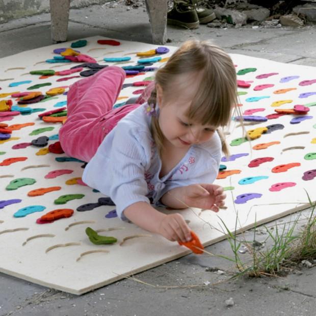 Fantazyjne dywany pod dziecięce stopy