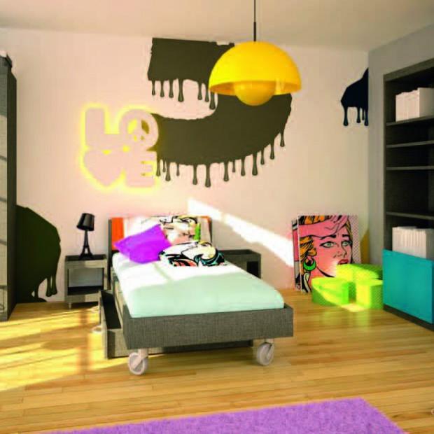 Pomysły na młodzieżowe pokoje