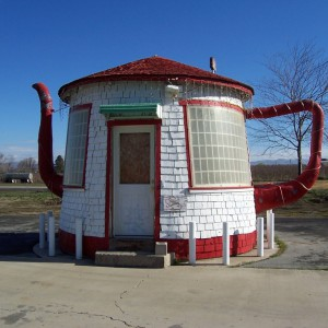 The Teapot Dome, Zillah, USA.