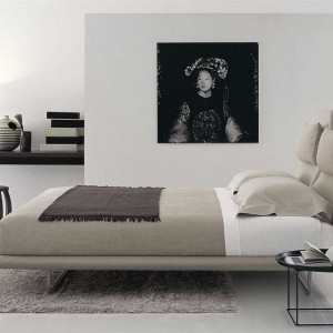 Łóżko Lazy. Fot. B&B Italia.